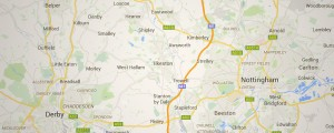 Google Map East Midlands