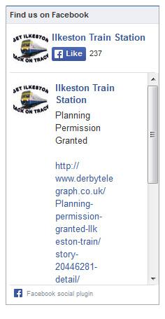 Ilkeston Railway Station Facebook Feed