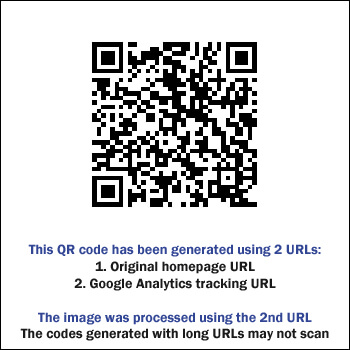 Less reliable QR code