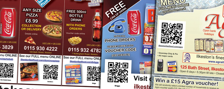 Restaurant Owner? Market Your Menu with QR Code Flyers