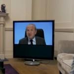 Alan Sugar On TV Set