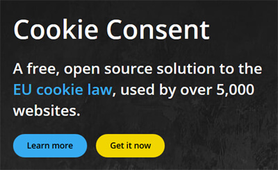Cookie Consent Button