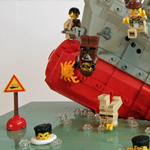 Sinking Ship Lego
