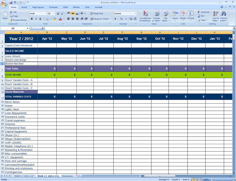 excel spreadsheet for planning a new business muskblog