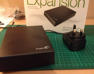 Seagate Expansion 2TB USB3 data storage