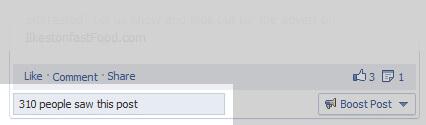 Facebook Reach Limited