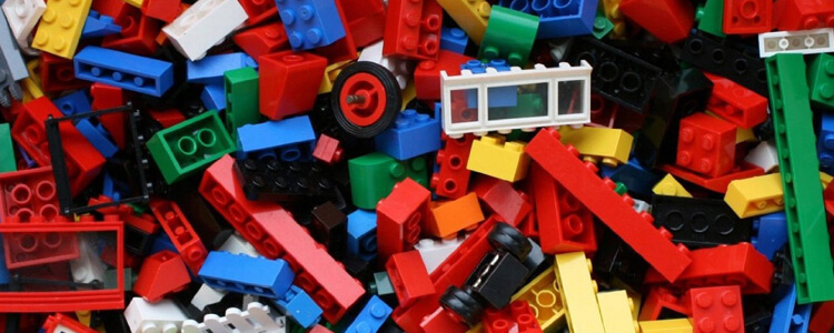 Mixed Lego Bricks