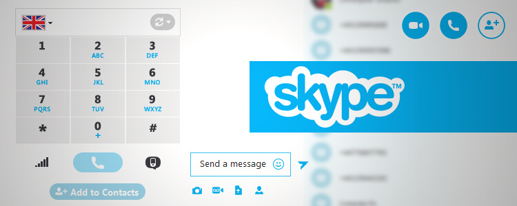 how to call out using skype