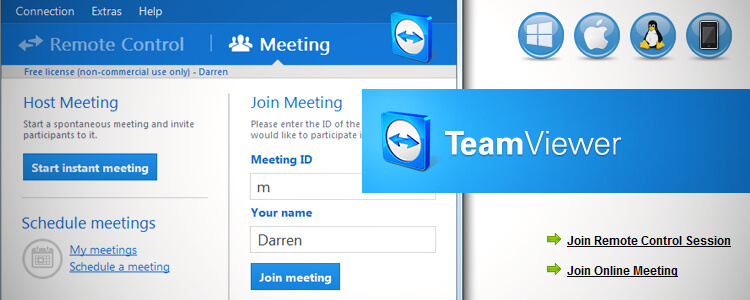 Team Viewer – Darren's Small Biz Tools