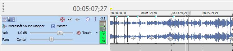 Sony Vegas Audio Editing