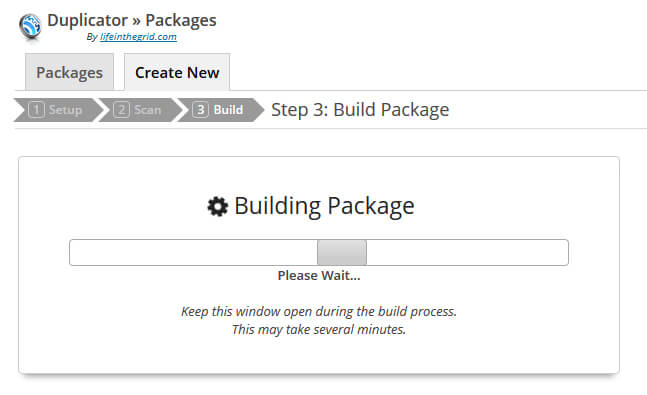 Building Package