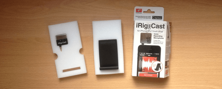 iRig Mic Cast by IK Multimedia