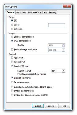 PDF Export