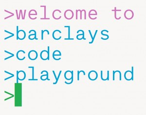 BArclay's Code Playground