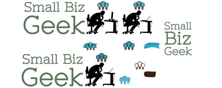 Small Biz Geek Logo Concepts