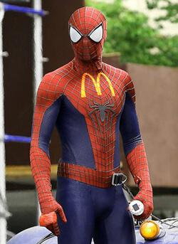 Spider-man Sponsor Ads