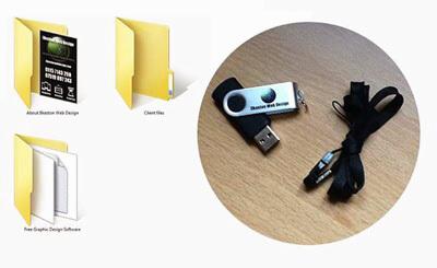 Branded USB stick
