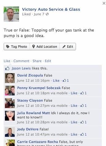 Social Media Example Marketing