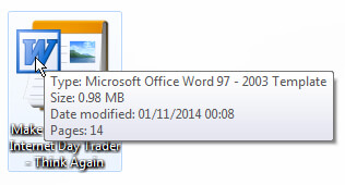 Microsoft Office Word 97 - 2003 format