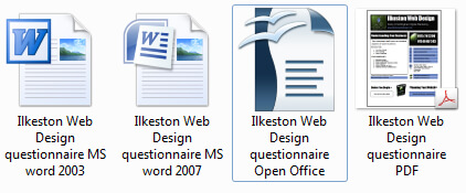 Word Document File Formats