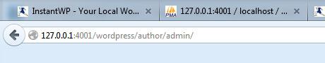 WordPress Author Archive