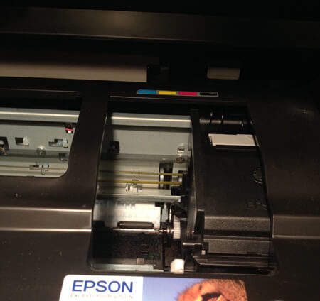 Epson Printer Lifted Lid