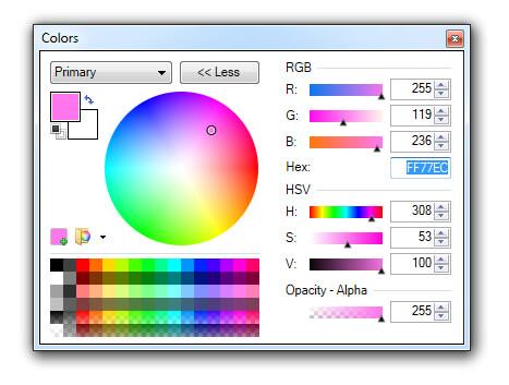 Colour Values