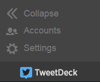 Tweetdeck Accounts Settings