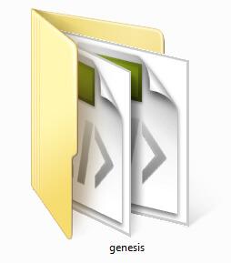 Genesis Framework folder