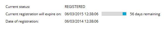 Avast Free license Status