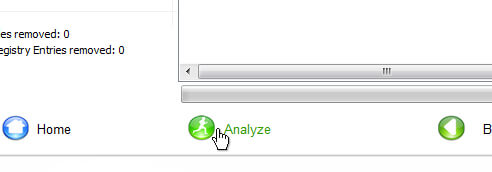 nCleaner Analyze Button