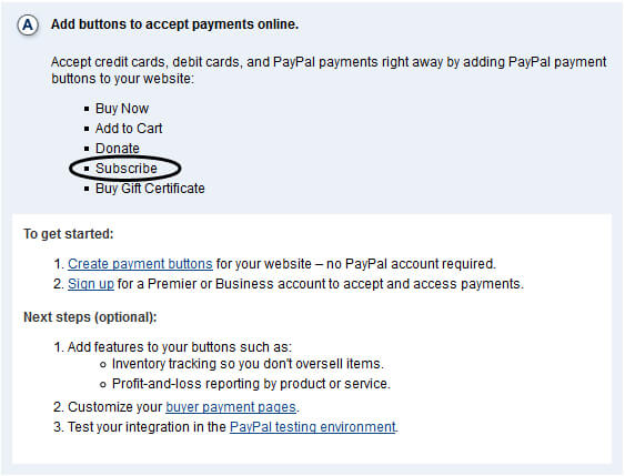 PayPal Website Standard Button Integration Overview