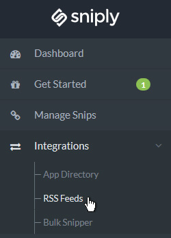 RSS Integrations