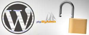 WordPress phpMyAdmin