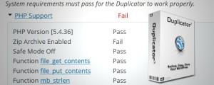 Zip Archive Failure