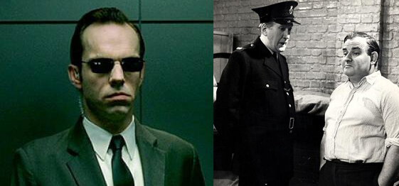 Agent Smith - Mr Barraclough