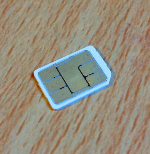 GiffGaff Nano SIM