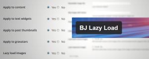 BJ Lazy Load WordPress plugin