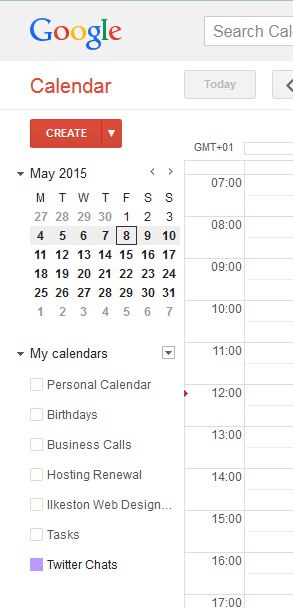 Google Calendar - My Calendars
