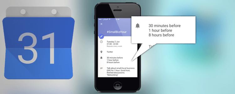 Google Calendar iOS App