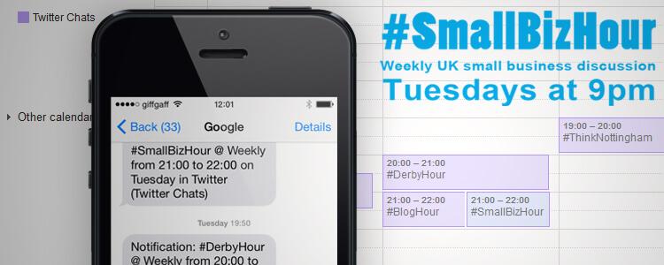 Tweet Chat SMS Reminders