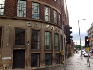 Antenna, Beck Street corner, Nottingham