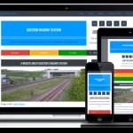 Railway Station Website Example