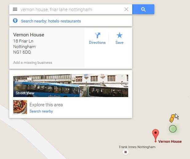 Google Street View Options