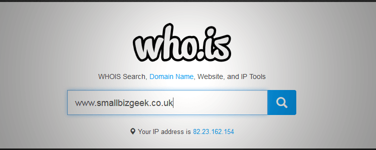 Free Whois Lookup - Whois IP Search & Whois Domain Lookup ...