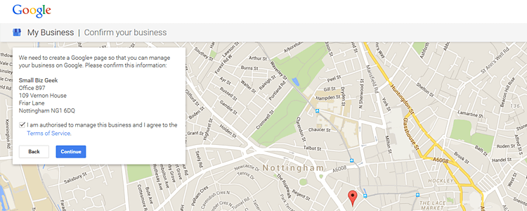 how to change your business address on google maps