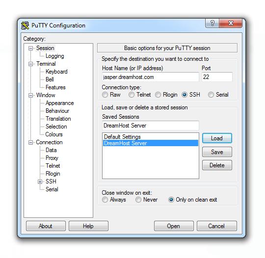 Jasper Server SSH