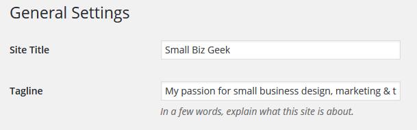 WordPress H1 & H2