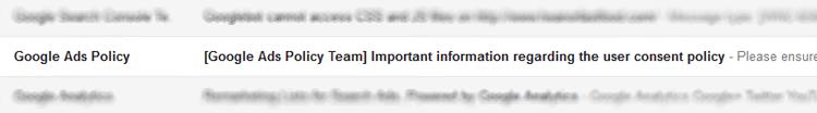 Google Cookies Email