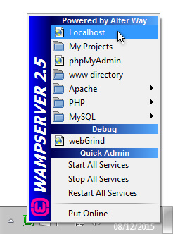 WAMP Access to Localhost